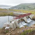 Hydroelectric power plant (1913).- Neðri-Stafur and Seyðisfjörður
