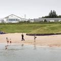 Ylströnd (the name of the beach).- Nauthólsvík Geothermal Beach