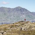 Hikers enjoying the local scenery.- Djúpivogur Campground