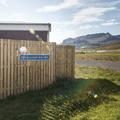The hot pool's entrance.- Lýsuhólslaug Geothermal Pool