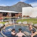 Lýsuhólslaug Geothermal Pool.- Lýsuhólslaug Geothermal Pool