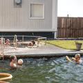 One of two natural hot tubs.- Lýsuhólslaug Geothermal Pool