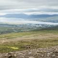 Getting higher above Akureyri.- Súlur
