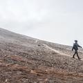 The path will zigzag to the peak.- Súlur