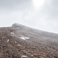The summit comes into view.- Súlur