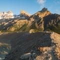 Follow the ridge to Mirador Maestri.- Mirador Maestri + Laguna Torre