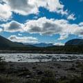 The river following the trail.- Mirador Maestri + Laguna Torre
