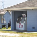Ice filling station.- Delaware Seashore State Park Campground