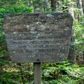 Near the top of Mount Ellen, the land management changes to the National Forest Service.- Mount Ellen via the Long Trail