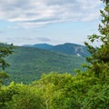 First view on the ridge.- Smarts Mountain