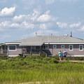 The visitor center on the Virginia side.- Assateague Island National Seashore