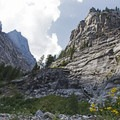 Every turn is a new granite facade.- Death Canyon to Patrol Cabin