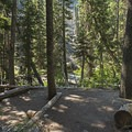 One of the early backcountry sites.- Granite Canyon