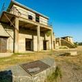 Remnants of Battery Keyes.- Portland Head Lighthouse