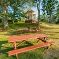 There are many picnic areas scattered around the park.- Portland Head Lighthouse