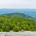 View from Mount Kearsarge.- Mount Kearsarge