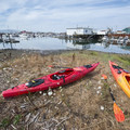 Boat launch off of American Avenue across from the Garibaldi Marina.- Tillamook Bay: Garibaldi Marina to The Three Graces