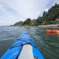 "Approaching ""The Three Graces.""- Tillamook Bay: Garibaldi Marina to The Three Graces"