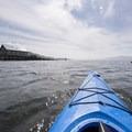 Kayaking back to Garibaldi on Tillamook Bay.- Tillamook Bay: Garibaldi Marina to The Three Graces