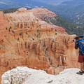 Be careful for the sheer edges.- Cedar Breaks National Monument