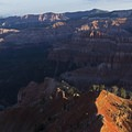 Point Supreme sunrise.- Cedar Breaks National Monument