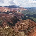 Views from the North Overlook in Cedar Breaks National Monument.- Cedar Breaks National Monument