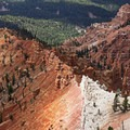 Looking into the Ashdown Gorge.- Cedar Breaks National Monument