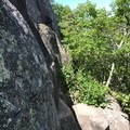 This trail is certainly not for those with a fear of heights or exposure.- The Precipice Trail
