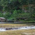 The Blackburn Fork River.- Cummins Falls State Park Hike