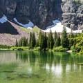 No Name Lake.- No Name Lake Hike