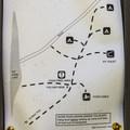 Campground map.- No Name Lake Campground