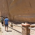 The Barrier Canyon Style is up to 7,000 years old.- Buckhorn Wash Rock Art
