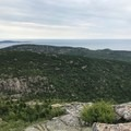The north ridge of Dorr from the summit of Cadillac.- Cadillac and Dorr Mountain via the Gorge Path