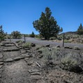 The footpath joins Cave Loop Road for most of the hike.- Cave Loop