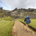 Embarking on the Laugavegur.- Laugavegur Hiking Trail