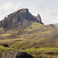 Unicorn Mountain.- Laugavegur Hiking Trail
