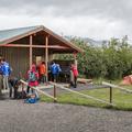 Sanitary building near Grenigrund.- Hamrar Campground