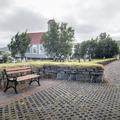 Walkway throughout Reykholt.- Reykholt