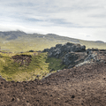 The entire crater of Saxhóll.- Saxhóll