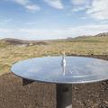 Information about the surrounding landscape.- Saxhóll