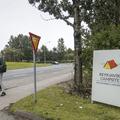 The entrance off of Sundlaugavegur.- Reykjavík Eco Campsite
