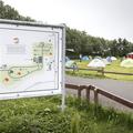 A campsite map.- Reykjavík Eco Campsite