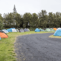 Many people come here to camp.- Reykjavík Eco Campsite