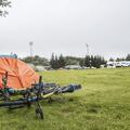 Many campers bring their bikes.- Reykjavík Eco Campsite