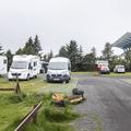 Space for campers and caravans.- Reykjavík Eco Campsite