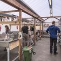 The wash station.- Reykjavík Eco Campsite