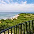 Views of Aquinnah Cliffs from atop Gay Head Lighthouse.- Gay Head Lighthouse