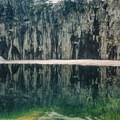The famous Precipice Lake.- Mineral King Loop: Timber Gap to Sawtooth Gap