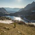 The epic climb up Sawtooth Gap.- Mineral King Loop: Timber Gap to Sawtooth Gap