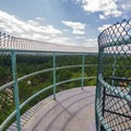 A view from the top of a guard tower.- Fort Miles Historical Area